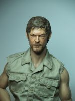Daryl Dixon action figure WIP!! by Sean-Dabbs-fx