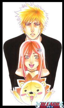 Bleach_Love Triangle by Ecthelian