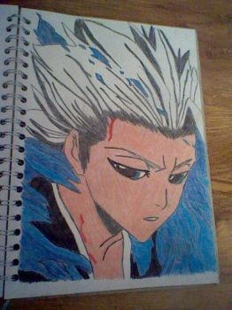 Bleach Hitsugaya Drawing art book by ppgz-and-rrbz-lover