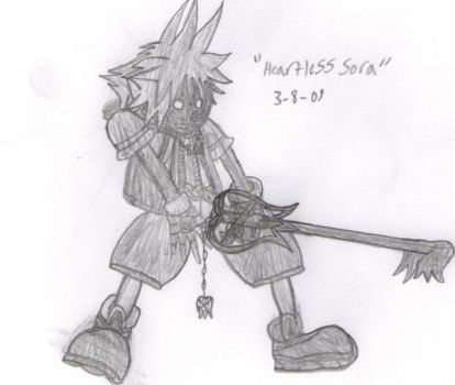 Sora's Heartless by Evicted-Eric