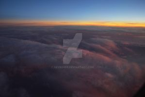 High over clouds by Skyrover