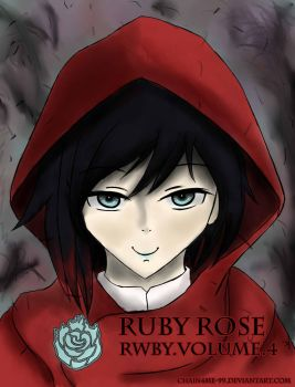 RWBY Volume 4: Ruby Rose by Chain4Me-99