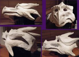 Sssage dragon mask update by eiudragon