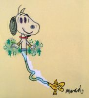 Genie Snoopy by Mead1992