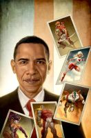 Youngblood Obama by capprotti