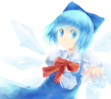 HAPPY CIRNO DAY by pasteltea