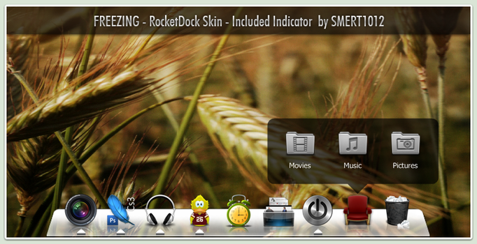 Freezing for RocketDock by smert1012
