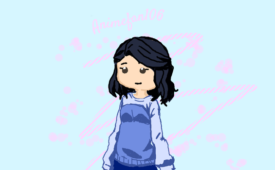 New drawing of me 0v0 by Animefan-106