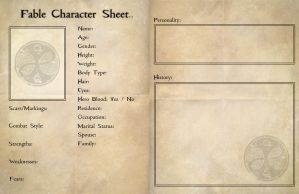 Fable Character Sheet V2 by sweettartslover