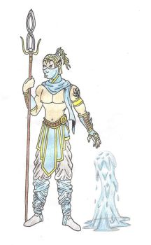 Water Warrior by frank18