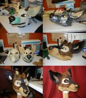 First resin mask WIP by DrakonicKnight