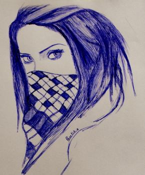 09 - The Girl With the (blue) Scarf by PreetikaSharma