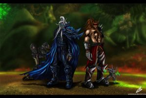 Dark brothers by Alkharia