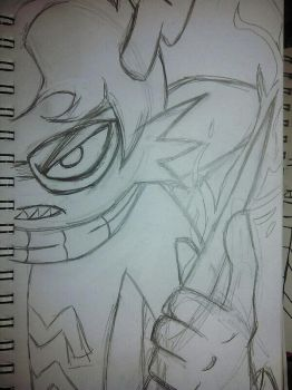 Eridan redraw sketched out by KuronekoGrimm