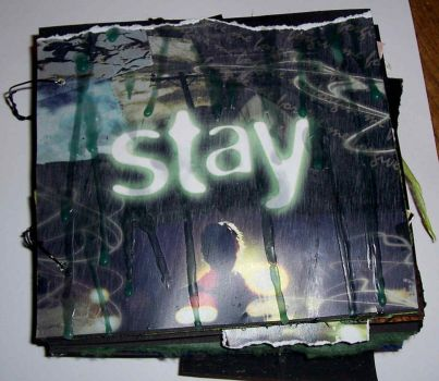 Stay altered book - cover by Ewanecka