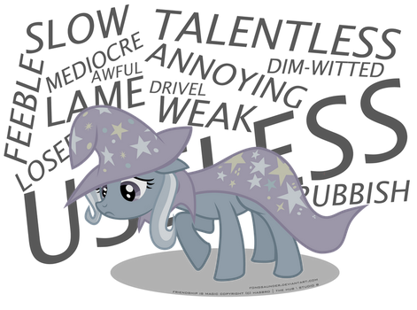 The Weak and Powerless Trixie by fongsaunder