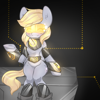 derp glow by Camelliachu