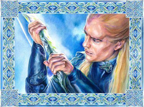 A bow of the Galadhrim - 60k by Callista1981