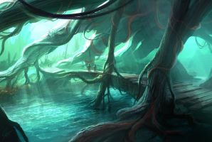 Tree Root Canopy by ANTIFAN-REAL