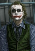 .: Joker... Why so serious? :. by Ghost-Roxy