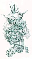 Disgruntle Alien Thingymajig by VAMPDWARF