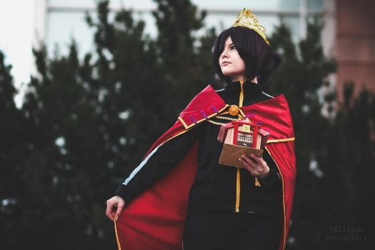 King Yato - Noragami cosplay by Ellieeh