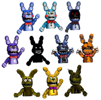Bonnie Puppets by FNaFEditorist50