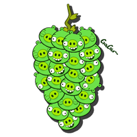 The Pigrapes by RiverKpocc