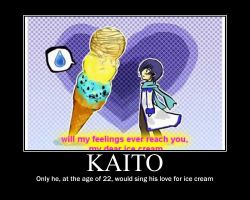 Kaito - Motivational Poster by goddess-of-flight
