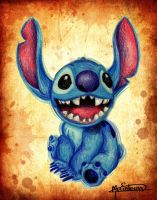 Stich - Lilo and Stitch by Man0uk