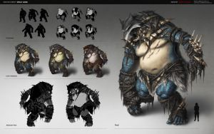 Concept Sheet: Wolf Lord by JimmyZhang