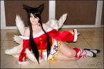 Ahri Cosplay by Nao-Dignity