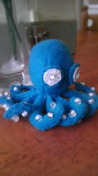 Jewelled Octopus by Felissauria