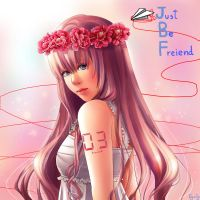 Vocaloid luka Just be friend J by RyoJy