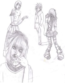 Visual Kei by TiffanyTheArtFreak
