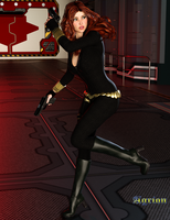 Black Widow V.2 by Agr1on
