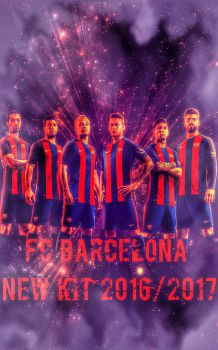 FC BARCELONA NEW KIT 2016/17 by Leo10thebest