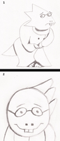 Alphystober - 31 Days of Alphys Drawings by OppoQuinn