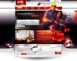 qhar website by webdesigner1921