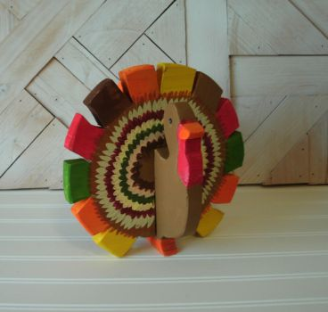 Colorful Thanksgiving Turkey by sweetpie2