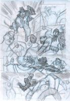 Batman Rockabilly - Sample Pages WIP 2 by DenisM79