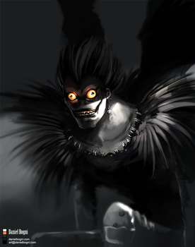Death Note - Shinigami Ryuk by danielbogni