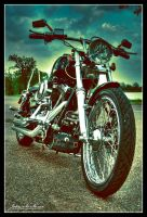 Harley-Davidson:HDR:Retro by MrMcMican