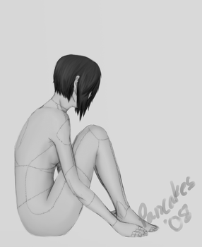 Body study - stitches warning by angelcurse0538