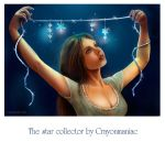 The star collector by crayonmaniac