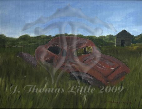 1935 chevrolet master wrecked by JThomastheartist13