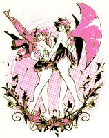Gun Fairy and Axe Fairy by Soap-Committee