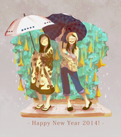 HNY 2014! by Viridilly