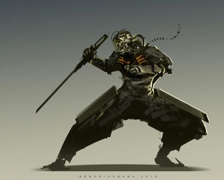 Cold Steel by benedickbana