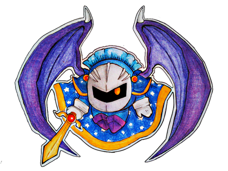 [Kirby] Meta Knight by TheFroggyQueen